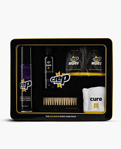 Crep Protect Mens Gift Set Storage Box Care Kit Black