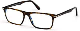 Tom Ford FT 5681-B BLUE BLOCK Dark Havana 54/16/145 men eyewear frame
