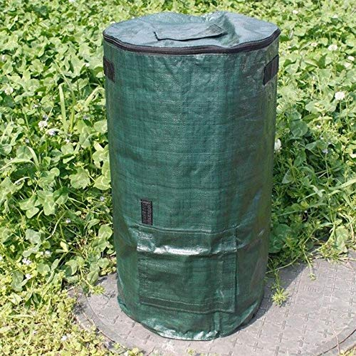 Great Price! Yard Waste Bags Organic Waste Kitchen Garden Yard Compost Bag Environmental Cloth Plant...