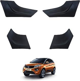 Hi Art Car Custom Fit Bumper Scratch Protectors Compatible with Tata Nexon, Set of 4