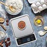 Báscula de Alimentos, con precisión de 0,1 Gramos Báscula de Cocina Digital Pesaje de Cocina para medir el Peso de los artículos