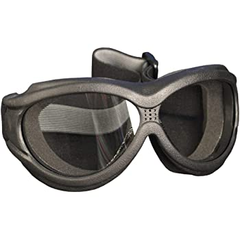 Hot Leathers Big Ben Motorcycle Goggles Clear Lense Fit Over Glasses