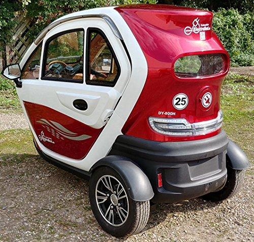 Scooter Elektroauto Kabinenroller E-Mobil mit Dach Bild 3*