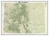 National Geographic: Colorado Wall Map (40.5 x 30.25 inches) (National Geographic Reference Map)