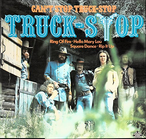 Truck-Stop / Can´t Stop Truck-Stop / 1974/ Bildhülle / Telefunken # SLE 14783-P / Deutsche Pressung / 12 Zoll Vinyl Langspiel-Schallplatte /