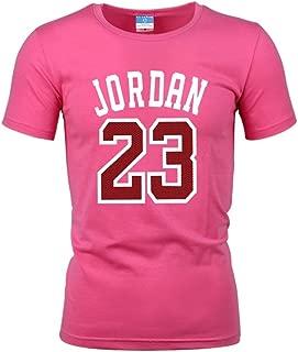 Jordan 23 Print Men T-Shirt Cotton Jordan 23 Hip Hop Short Sleeve T Shirt Men