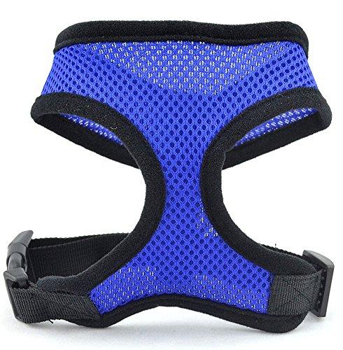 Confort de contrôle des chiens Harnesses-M-Blue