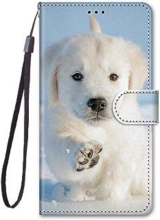 För Meizu M6T/Meiblue 6T/Meilan 6T fodral PU-läder skydd söt målad kortplats plånbok flip fodral (a17)