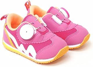 ダイヤルドライブ 男の子 女の子 ベビー スニーカー 運動靴 タウン&カントリー rio47104[13.0cm×ピンク]