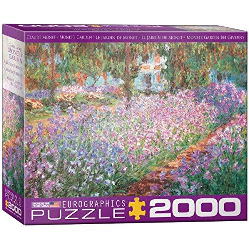 EuroGraphics 8220 4908 The Artist 's Garden   Puzle (2000 Piezas)