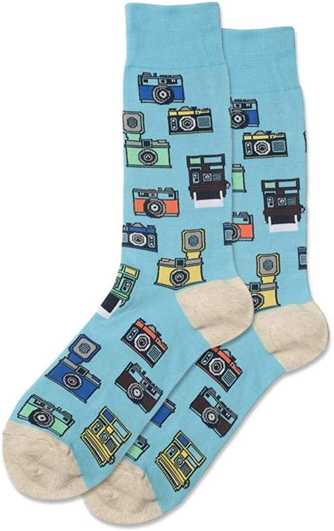 Hotsox Vintage Cameras Socks 1 Pair