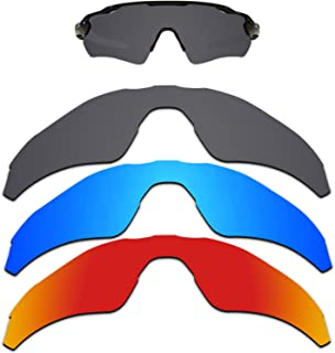 Kygear Anti-fading Polarized Replacement Lenses for Oakley Radar EV Path Sunglasses