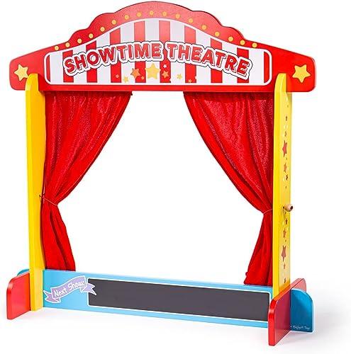 Bigjigs Toys Castelet de théâtre pour Table