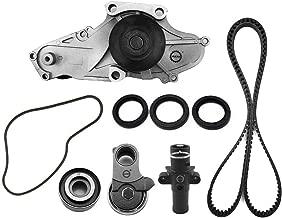 Complete Professional Engine Timing Belt Kit with Water Pump for Honda Acura 2004-2017 3.0L 3.5L 3.7L V6 SOHC