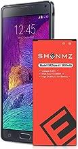 Galaxy Note 4 Battery SHENMZ 3600mAh Li-ion Replacement Battery for Samsung Galaxy Note 4 N910 N910A (AT&T) N910T(T-Mobile) N910(Verizon) N910P(Sprint) N910F N910U LTE - 24 Months Warranty