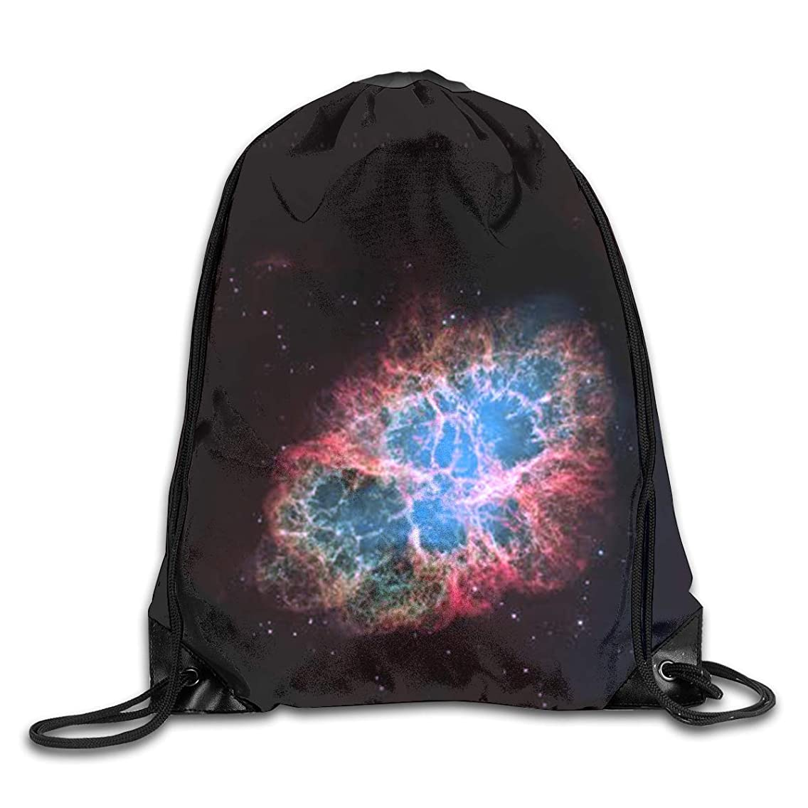 Amazing Galaxy Men & Women Sport Gym Sack Dancing Bag Drawstring Backpack For Beach Hiking Travel Bags