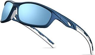 Polarized Sports Sunglasses for Men Women Cycling Running Driving Fishing Golf Baseball Glasses...