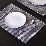 Brand New 4pcs/Lot Christmas Placemats, PVC Placemat Bar Mat, Acessorios De Cozinha, 30*45cm Plate Mat E6, Table Mat Set, Kitchen Hot Pads color 5