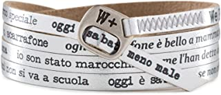 We Positive SPECIALE BLACK FRIDAY SCONTO 20% BRACCIALE MY SONG FOR PINO DANIELE O ' SCARRAFONE COL. ARGENTO MY444