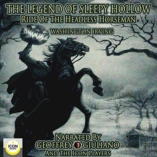 The Legend of Sleepy Hollow, Ride of the Headless Horseman cover art