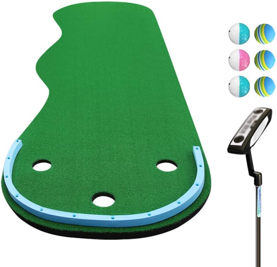 AUKLM Sale item Putting mat Golf Green Wavy Japan's largest assortment Incline Shape Mat