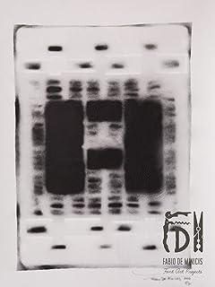 Letra A ABC Hort por Fabio De Minicis - Lienzo original 1/7-50 x 70 cm.