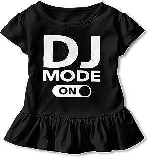 KAYERDELLE DJ Pug Babys Boys /& Girls Short Sleeve Jumpsuit Outfits and Tshirt