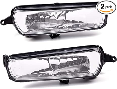 2008-2012 Ford Focus Replacements Fog Lights Front Driving Lamps Clear
