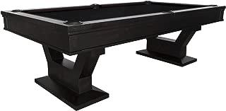 PLANK AND HIDE Empire Vintage Wood Series Gaston Billiard Pool Table, 8 Feet