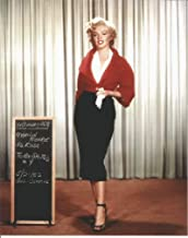 Marilyn Monroe costume test picture - 8 x 10 inch Photo
