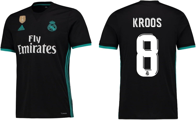 Trikot Herren Real Madrid 2017-2018 Away WC - Kroos 8 B0748TMBVP  Hohe Qualität und geringer Aufwand