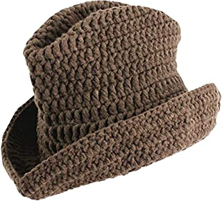 Eforstore Newborn Baby Photography Prop Lovely Crochet Knitted Cowboy Hat Boots Set for Girls Boys