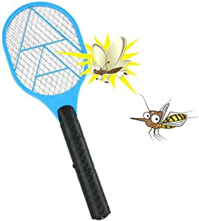 💕 Mosquito Killer Electric Tennis Bat Handheld Racket Insect Fly Bug Wasp Swatter