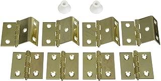 National Hardware N269-860 V474 Shutter Hinge Kit in Brass