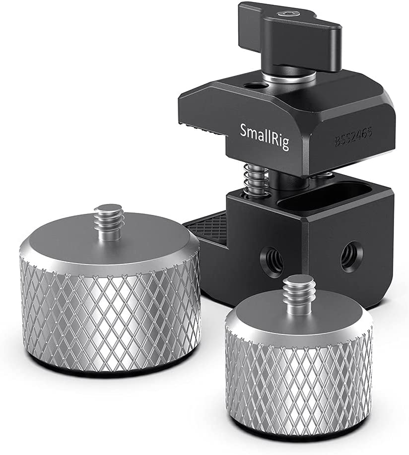 SMALLRIG Counterweight Mounting Clamp Abrazadera de Montaje de Contrapeso para dji Ronin-S/Ronin-SC y Crane 2S/Crane 3/WEEBILL - BSS2465