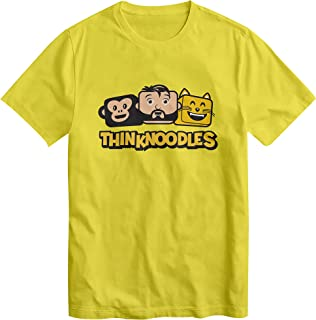 Thinknoodles Kids T Shirt Youtuber Family Gaming videos Fans Boys Girls Tee Top