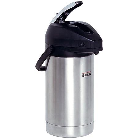 BUNN - BUN321300000 32130.0000 3.0-Liter Lever-Action Airpot, Stainless Steel