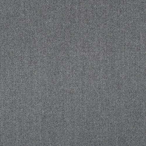 MIRABLAU DESIGN Stoffverkauf Wollstoff Anzugstoff grau meliert (1-269M), 0,5m