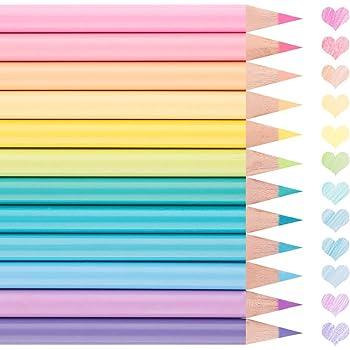 色鉛筆 12色 水彩 可愛い パステルカラー アート鉛筆 大人の塗り絵