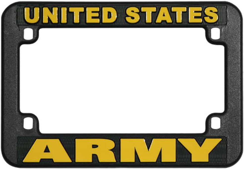 Honor Spasm price Country US Army Motorcycle Direct stock discount Frame Plate Plastic License