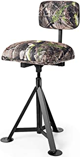 Tangkula 360° Swivel Camo Hunting Chair, Multi-Position...