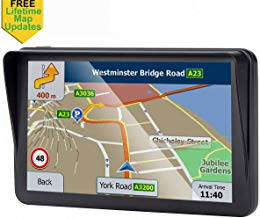 GPS for Car, 7 inches Portable Lifetime Map Update Spoken Turn-to-Turn Navigation System for Cars, SAT NAV