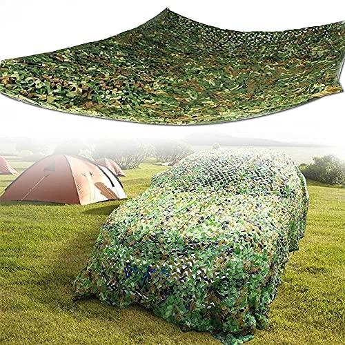 Militära kamouflage nät Det bästa kamouflage nätet på gräsmarker och berg, vattentätt och solskyddsmedel, lätt och slitstarkt, lätt att installera (Size : 3x3m9.8x9.8ft)