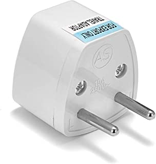 1pcs Universal Portable Travel Adapter Plug to Transform Electric Power from UK/US/AU To EU Small Compact International Al...