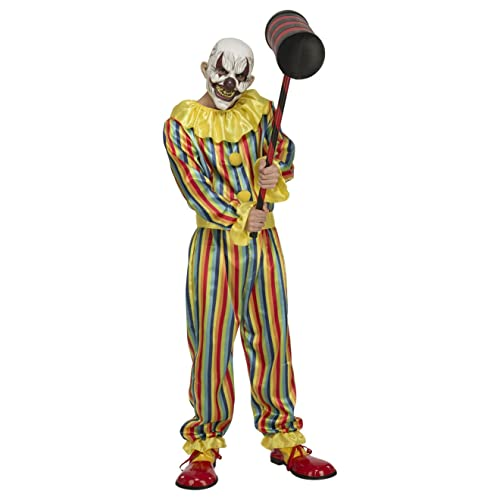 My Other Me Me-204389 Disfraz Prank clown para hombre M-L Viving Costumes  204389 91319fdeed6