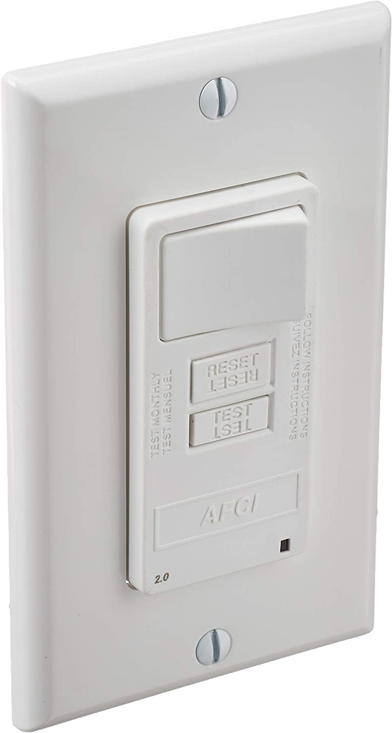 Leviton AFSW1-W SmartlockPro Outlet Branch Spring new work Combina Circuit OBC Quality inspection