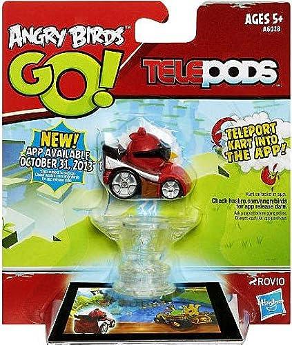 Angry Birds GO  Telepods rot Bird Kart
