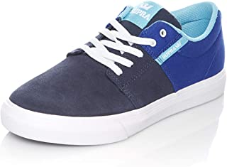 Supra Royal-Navy-White Stacks Vulc II Kids Shoe