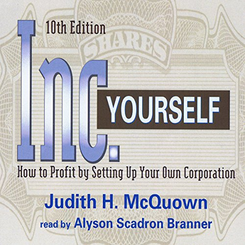 Inc. Yourself audiobook cover art