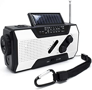 Ydfngfgn 非常灯ワイヤレス懐中電灯USB充電防災ラジオ2000mAH地震災害津波台風停電緊急対策iPhone Androidスマートフォン対応、SOSアラート付き